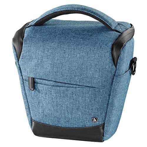 Hama Unisex Sac Photo Trinidad, 110 Colt, Bleu Handtasche, Blau 00185024, 14x20.5x19 cm