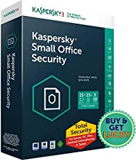 Kaspersky Small Office Security Latest Version- 25 PCs + 3 File Server + 25 Mobile Devices 1 Year (CD)