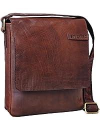 8bf713d8ce STILORD 'Dario' Borsello in pelle Borsa a tracolla uomo in cuoio vintage  Piccola borsa messenger tablet e iPad da…