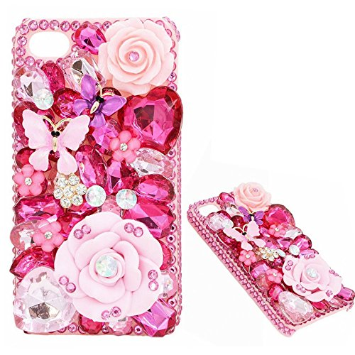 Spritech (TM) 3d bling strass rigida per iPhone 6 5.5, Style-15, iphone 6 5.5 Style-10