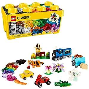 LEGO- Classic Scatola Mattoncini Creativi Media per Liberare la Fantasia, Facile da custodire, per Bambini dai 4 Anni… LEGO