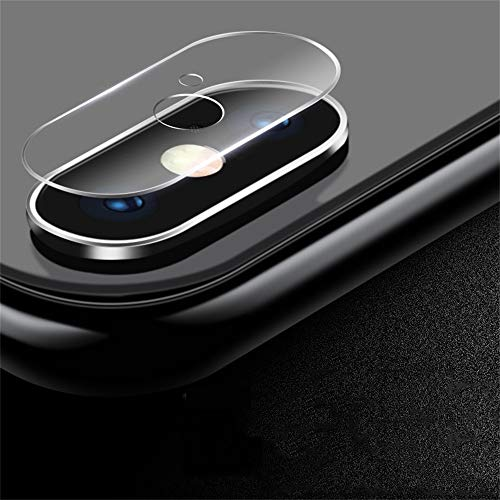 Hunpta@ 5X Kamera Schutzfolie Für iPhone XS Max 6,5 Zoll, Zurück Rückfahrkamera Objektiv Gehärtetem Glas Bildschirm Film Protector (A)