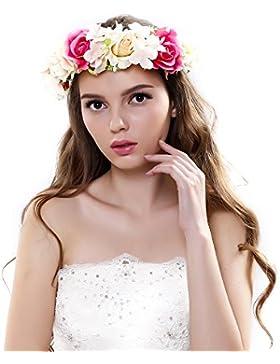 Corona de Ever Fairy® de estilo griego, rústico y natural