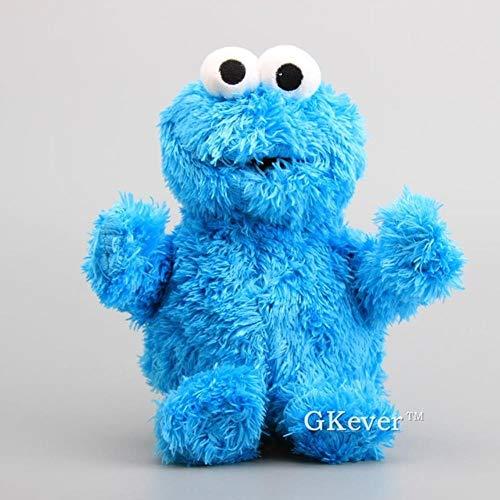 HPPL HPPLHochwertige Sesame Street Monster Plüschtier Puppe 30-33 cm Kinder Lernspielzeug, Cookie Monster (Monster Cookie Erwachsene)