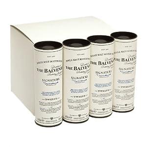 Balvenie 12 year old Signature Single Malt Scotch Whisky 5cl Miniature - 12 Pack