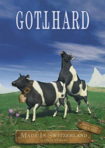 Gotthard - Made In Switzerland Live (CD + DVD) - Fusion Pal