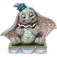 Enesco Disney Traditions Figurine Sospensione Babbo Natale Santa Notte, Pvc, Multicolore, 5x6x8.5 cm - Enesco Natale