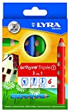 Lyra 3831060 - Pack de 6 lápices