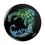 Dragon Slayer Fantasy Gaming Küche Kühlschrank Locker Button Magnet–2,5cm Durchmesser