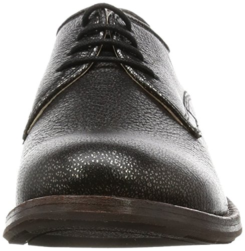Clarks Donna Derby In Pelle Tomina Luca Argent