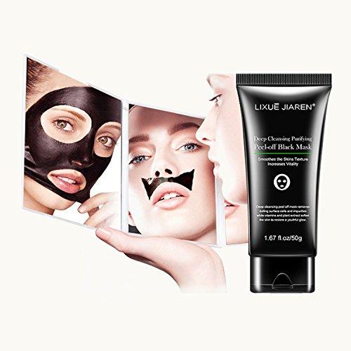 #Mitesser Entferner Maske – Mitesser Entfernungs-Maske, Akne Maske, Reinigungs-Maske, Gesichtsmaske schwarz 50g#