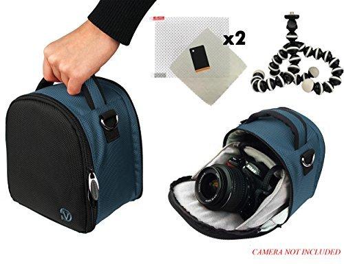 VG-VANGODDY Laurel Travel Camera Bag Case For Samsung WB Series WB1100F, WB2200F, Galaxy NX30 DSLR Camera + Screen Protector + Screen Protector + Mini Tripod  available at amazon for Rs.5299