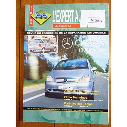 REVUE TECHNIQUE EXPERT AUTOMOBILE MERCEDES CLASSE A DEPUIS 1997