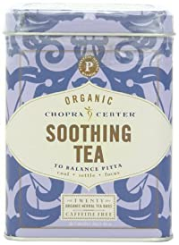 Chopra Center Organic Herbal Tea, Soothing, 20 Tea Bags