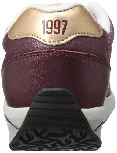 MBT 1997, Sneaker a Collo Basso Donna Multicolore (Burgundy/Rose GoldBURGUNDY/ROSE GOLD)