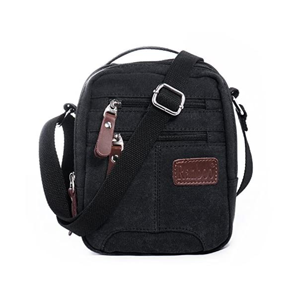4eef8624f240 Hengwin Men Canvas Messenger Bag