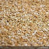 BEKATEQ BK-590 Marmorkies Naturstein, Giallo Mori 25kg, rundgerieben, gewaschen, 3-5mm, Steinteppich