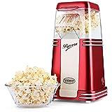 NOSTALGIA Machine à Popcorn Retro avec boîtier transparent à pop corn