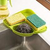 Floraware Creative Useful Multipurpose Must Have Corner Sink Wash Basin Storage Organizer Rack ,Pack Of 1,Multicolor