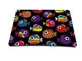 Luxburg Design tapis de souris mousepad, motif: Poissons multicolores