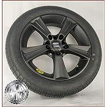 SP155112 - Rueda de repuesto de aleación + neumático 155 70 R17 para Seat Ateca