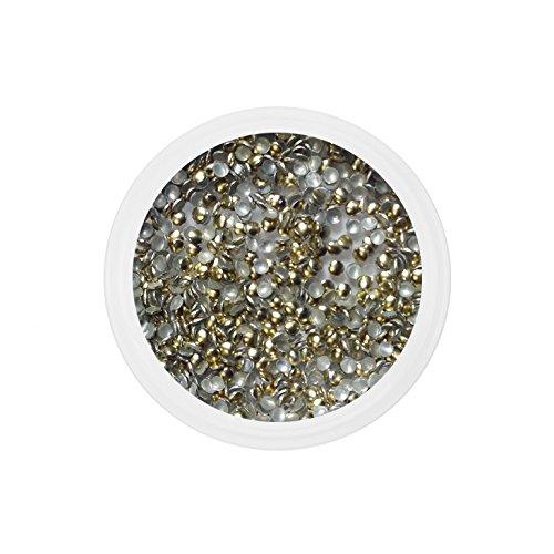 Strass metal dorés 1.5mm