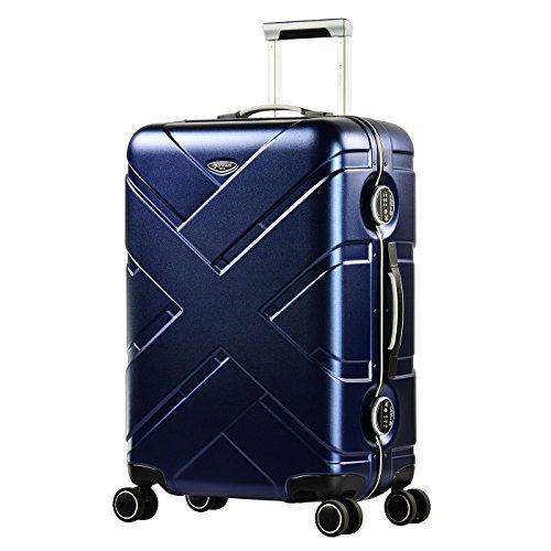 Eminent Crossover, Unisex-Erwachsene Koffer Blau blau/grau m