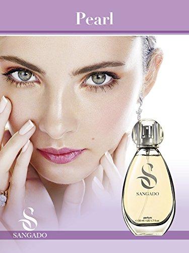 Sangado bianco perla profumo spray da donna, 50ml