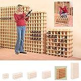 Cantinetta / scaffale per vino / sistema PRIMAVINO modulo per 36 bottiglie, legno di pino - a 76 x l 75 x p 22 cm