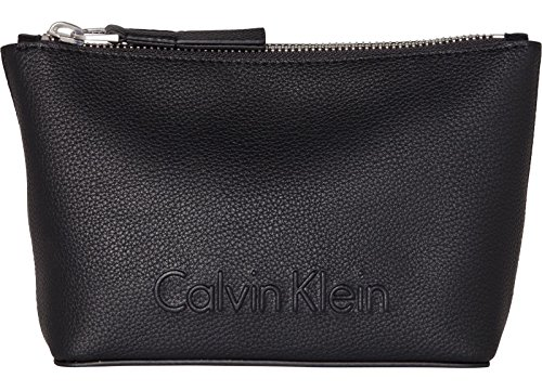 Calvin Klein Edge Cosmetic Pouch Black