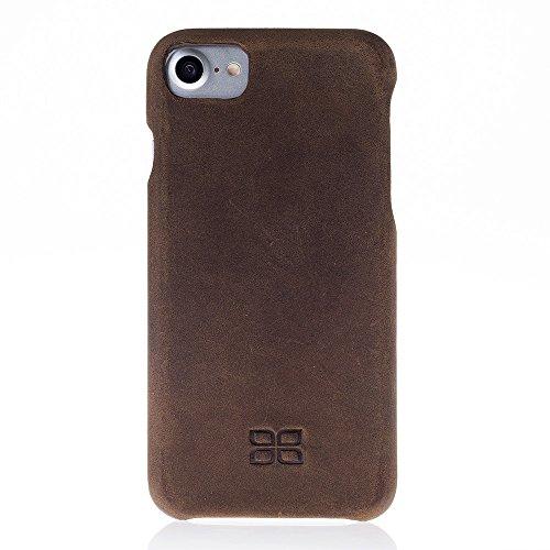 iPhone 7Cuir Coque–Coque intégrale Antic Marron Antic Brown