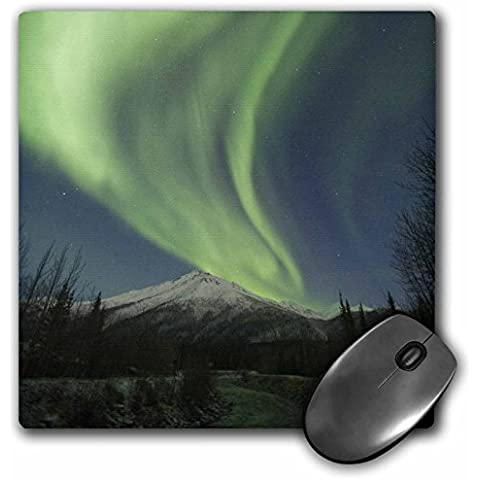 Danita Delimont - Northern Lights - Aurora borealis, Northern Lights, Brooks, Alaska, USA - US02 HRO0760 - Hugh Rose - MousePad (mp_142000_1)