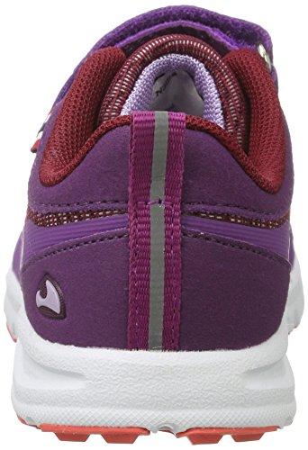 Viking Unisex-Kinder Holmen Outdoor Fitnessschuhe Violett (Plum/Dark Pink)
