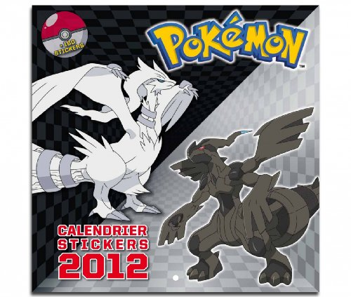 Calendrier Pokémon 2012