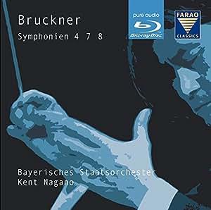 Bruckner: Symphonies 4 7 8 [Kent Nagano, Bavarian State Orchestra] [Farao: A108076] [DVD AUDIO]