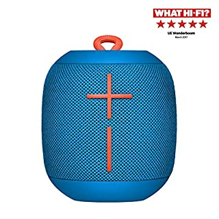 Ultimate Ears Wonderboom Portable Wireless Bluetooth Speaker, Thundering Bass, 360 Sound, Waterproof, Connect Two Speakers for Loud Hi-Fi, 10 Hour Battery Life, 100 ft Range - Subzero Blue (B06WRT6Y5Z) | Amazon price tracker / tracking, Amazon price history charts, Amazon price watches, Amazon price drop alerts