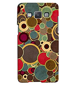 Citydreamz Colorful Circles/Rounds Hard Polycarbonate Designer Back Case Cover For Samsung Galaxy Core Prime G360H/G361H
