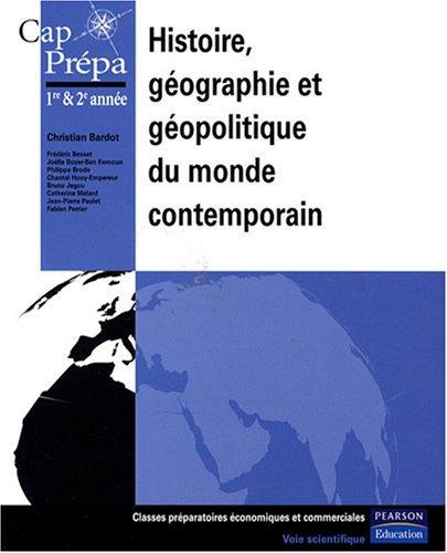 Histoire, gographie et gopolitique du monde contemporain
