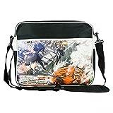 Attack on Titan Unisex Titan Messanger Bag Original 100% Polyester Schwarz Manga Anime