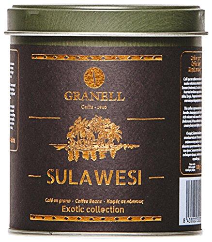 Granell Sulawesi Monte Sesean Indonesia Café Grano Exotic Colección - 100 gr