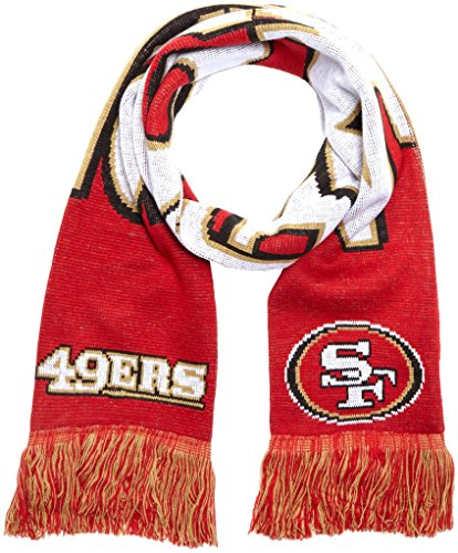 Forever Collectibles Schal NFL San Francisco 49ers Fanschal, Mehrfarbig, SVNF14WMSFAM