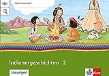 Indianer-Geschichten 2: Arbeitsheft Klasse 2 (Mein Indianerheft) - Cornelia Donth-Schäffer