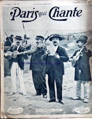 PARIS QUI CHANTE [No 136] du 27/08/1905