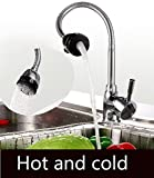 Generic kitchen sink faucet waterfall br...