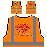 Rododendro Della Costa Di Washington Personalizzato Hi Visibilità Giacca Gilet Arancione di sicurezza s442vo