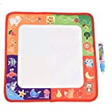 Tavola da Disegno Magica Acqua Disegno Mat Doodle Scribble Boards Scrittura didattica Sviluppare intelligenza Sketch Apprendimento Toy Gift for Boys Girls Toddlers Kids