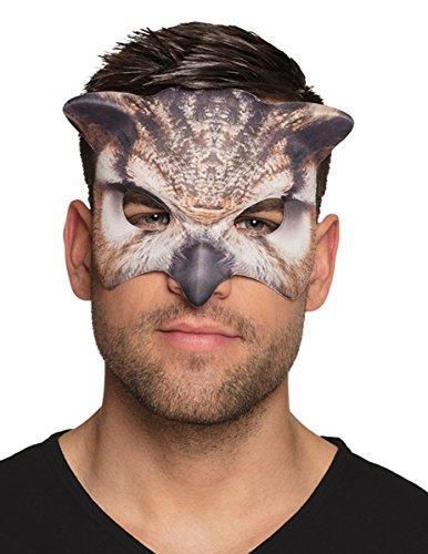 Generique - Maske Eule für Erwachsene