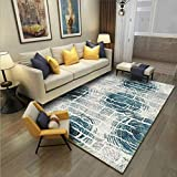 GCC Designer Rug Wohnzimmerteppich Modern Carpet Modern Abstract Kunst Muster Teppich Unschlagbaren Deal,Circle,160 * 230Cm