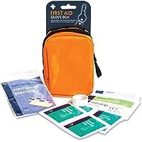 metropharm 2730.0R.M. Handschuh, Box mit Erste Hilfe Kit, klein, orange Tasche preisvergleich bei billige-tabletten.eu
