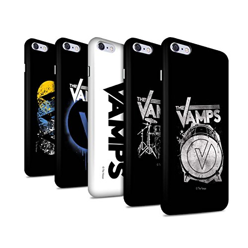 Offiziell The Vamps Hülle / Matte Snap-On Case für Apple iPhone 6S+/Plus / Pack 6pcs Muster / The Vamps Graffiti Band Logo Kollektion Pack 6pcs
